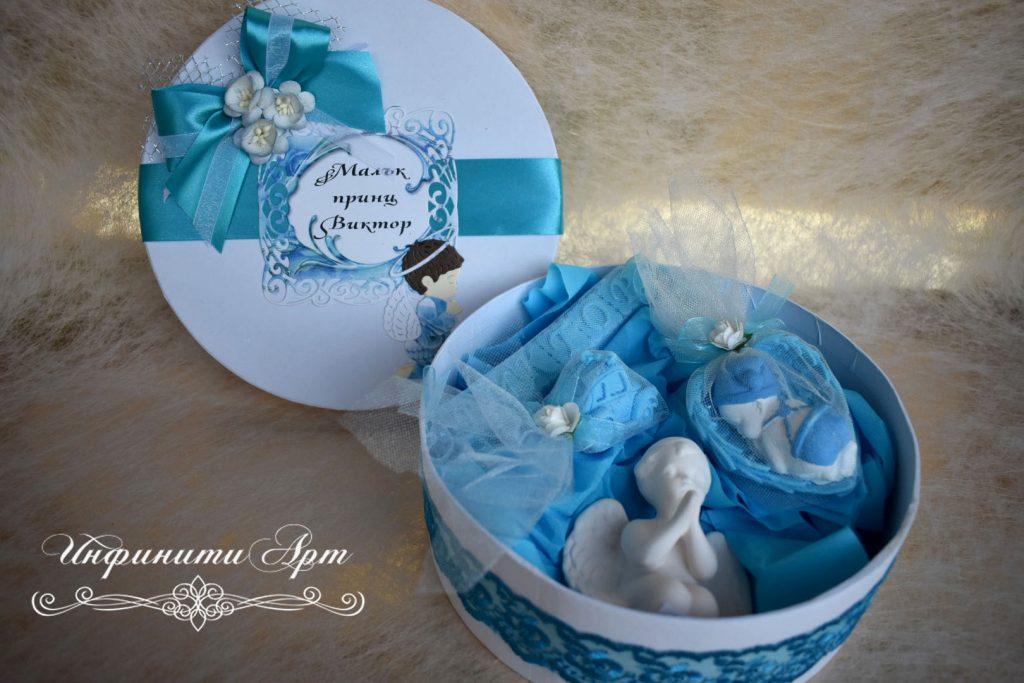 Кутия със сапунчета за Кръщене