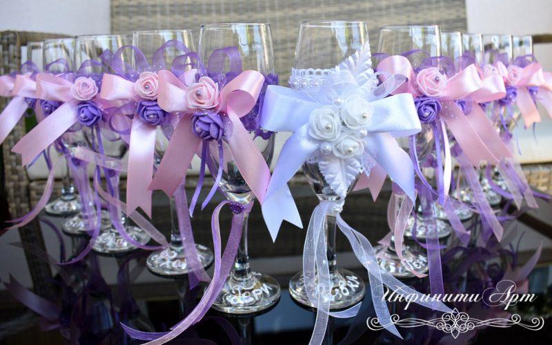 Чаши за моминско парти, ръчна изработка , декорация