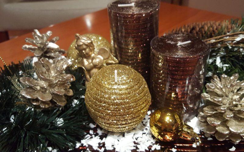 коледно плато , декорации за дома Коледа