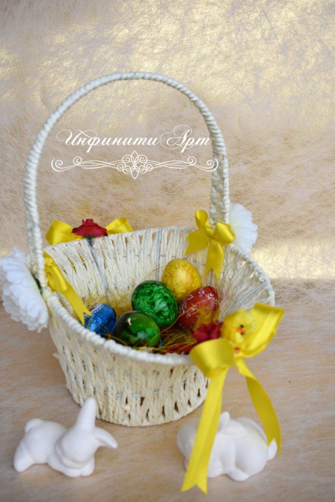 Великденска кошница за яйца