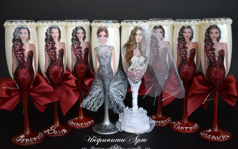 #Ръчна изработка #чаши за #моминско парти