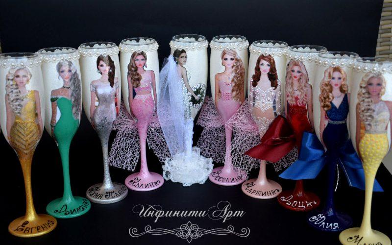 #Ръчна изработка чаши за #моминско парти