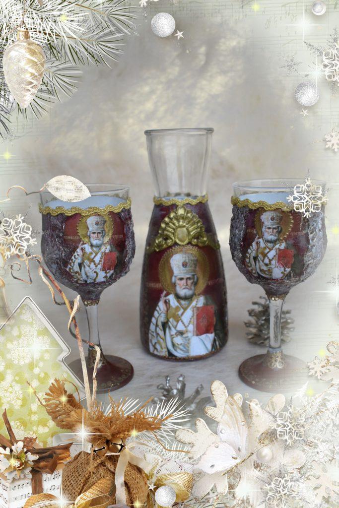 Комплект Свети Николай Чудотворец