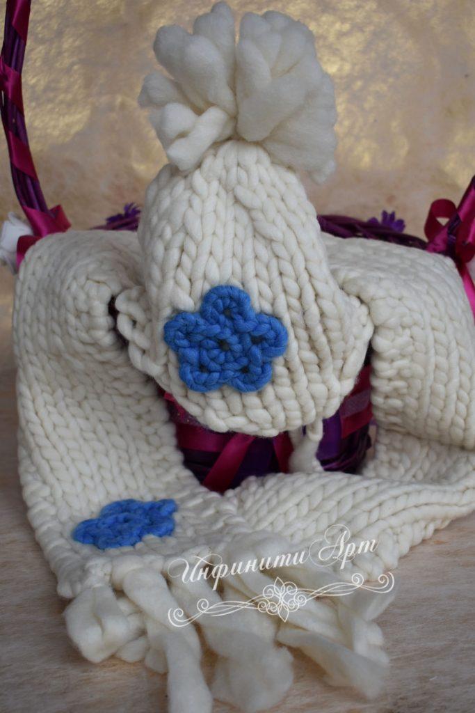 Детски комплект шал и шапка за Момче