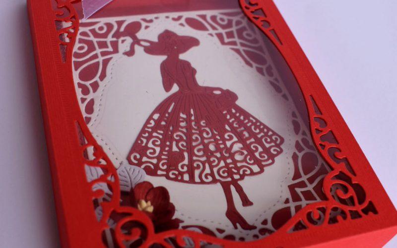 #Покана за бал жена ръчна изработка