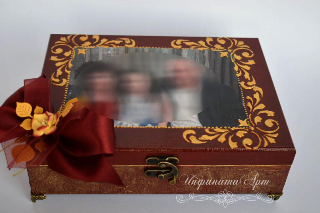 Кутия за бижута със снимка