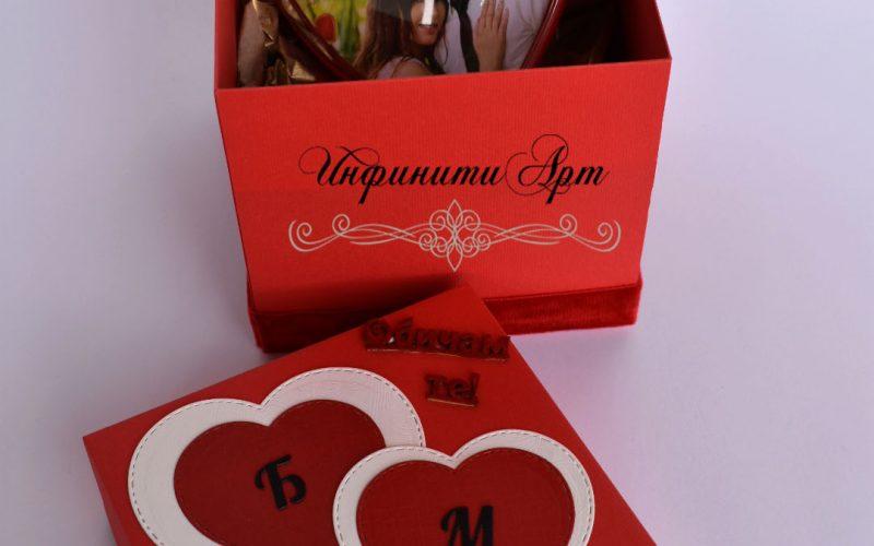 сърце със снимка свети валентин