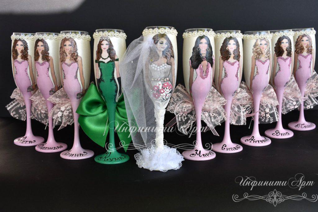 Чаши за моминско парти