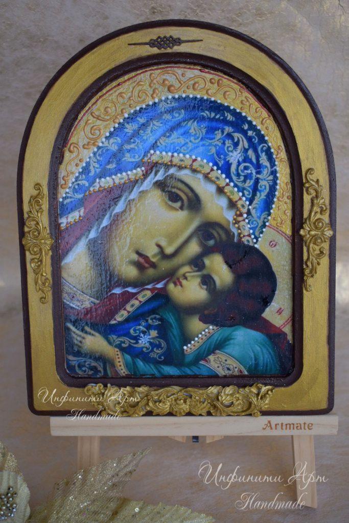 Икона Света Богородица и Младенеца 011