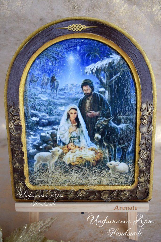 Икона Рождетво Христово 012